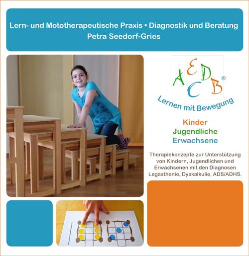 Flyer Lern- und Mototherapie